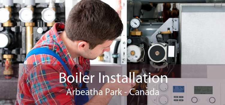 Boiler Installation Arbeatha Park - Canada