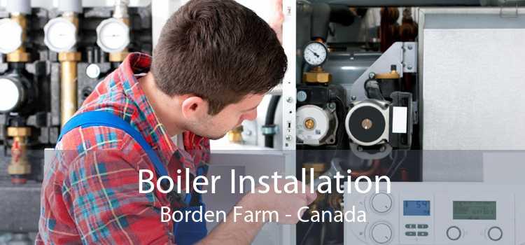 Boiler Installation Borden Farm - Canada