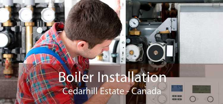 Boiler Installation Cedarhill Estate - Canada