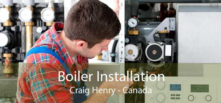 Boiler Installation Craig Henry - Canada