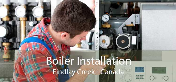 Boiler Installation Findlay Creek - Canada