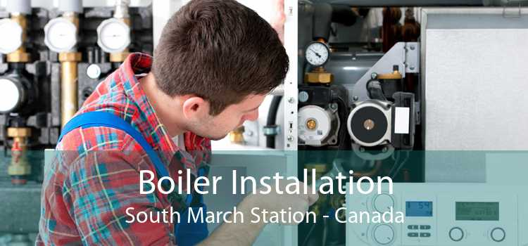 Boiler Installation South March Station - Canada