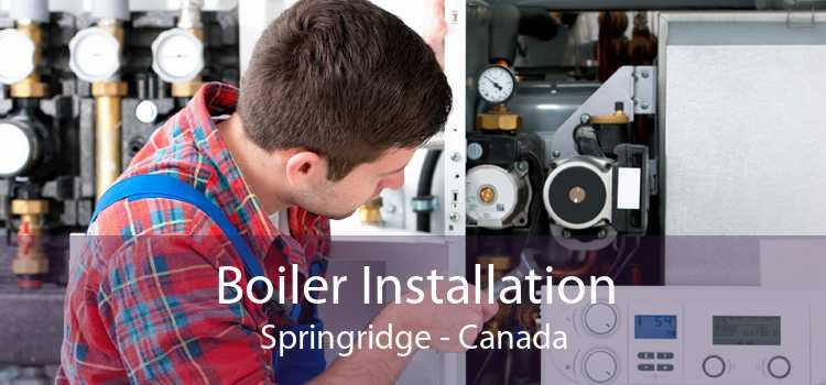 Boiler Installation Springridge - Canada