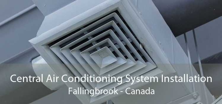 Central Air Conditioning System Installation Fallingbrook - Canada