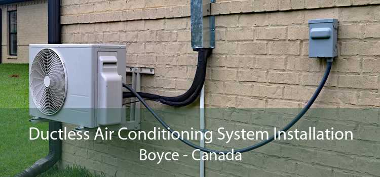 Ductless Air Conditioning System Installation Boyce - Canada