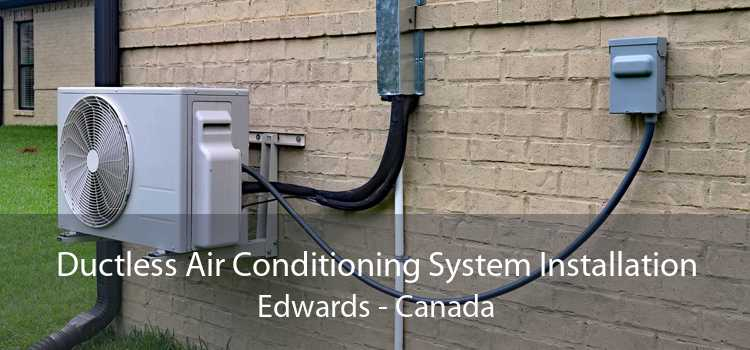 Ductless Air Conditioning System Installation Edwards - Canada