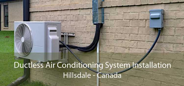 Ductless Air Conditioning System Installation Hillsdale - Canada