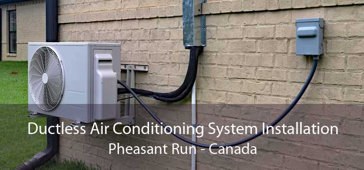 Ductless Air Conditioning System Installation Pheasant Run - Canada