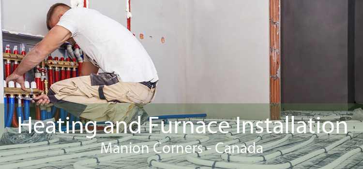 Heating and Furnace Installation Manion Corners - Canada