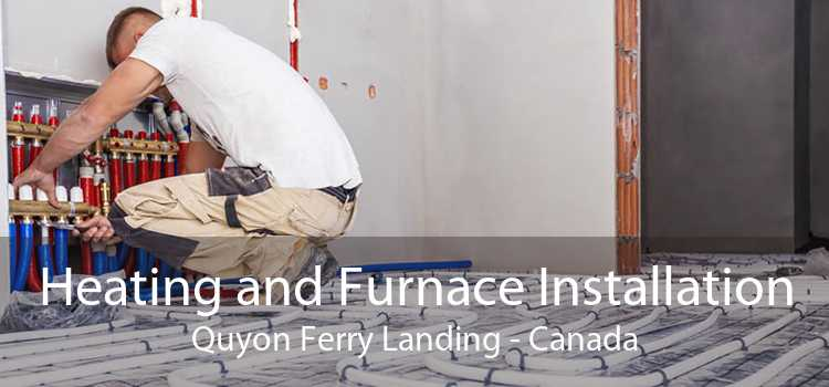 Heating and Furnace Installation Quyon Ferry Landing - Canada