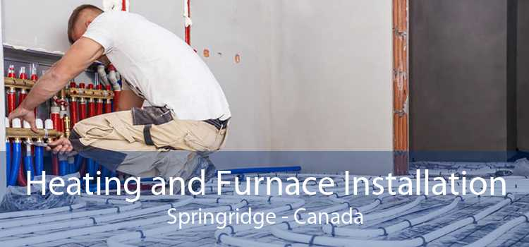 Heating and Furnace Installation Springridge - Canada