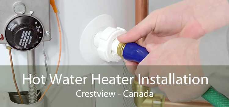 Hot Water Heater Installation Crestview - Canada