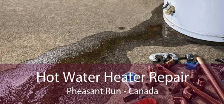 Hot Water Heater Repair Pheasant Run - Canada