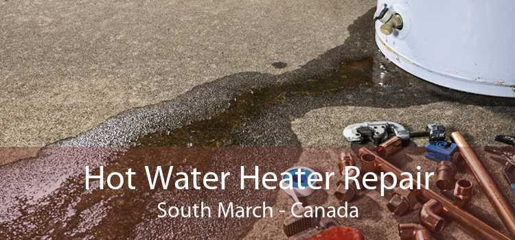 Hot Water Heater Repair South March - Canada