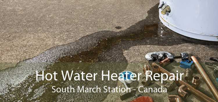 Hot Water Heater Repair South March Station - Canada