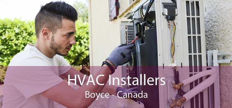 HVAC Installers Boyce - Canada