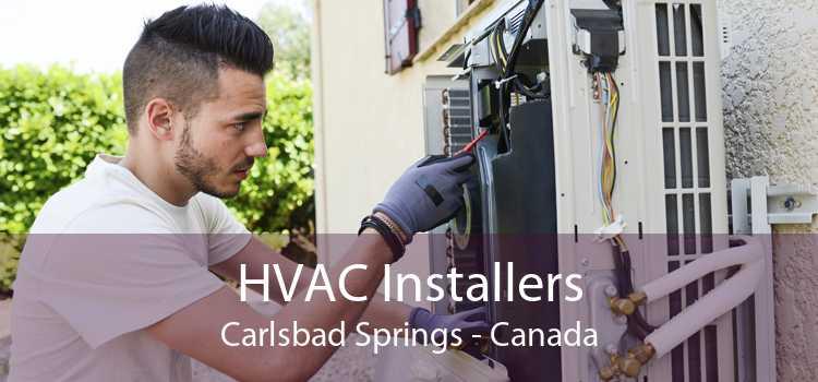 HVAC Installers Carlsbad Springs - Canada