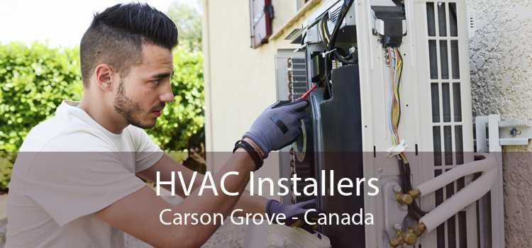 HVAC Installers Carson Grove - Canada