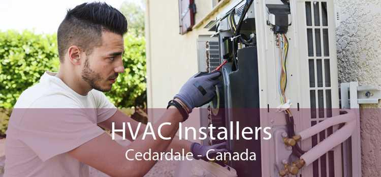 HVAC Installers Cedardale - Canada