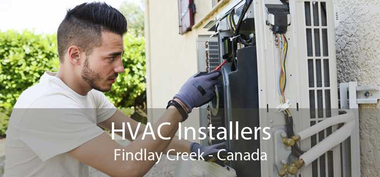 HVAC Installers Findlay Creek - Canada