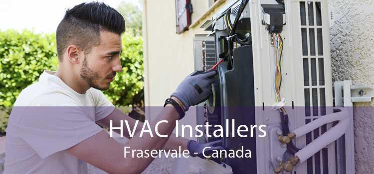 HVAC Installers Fraservale - Canada