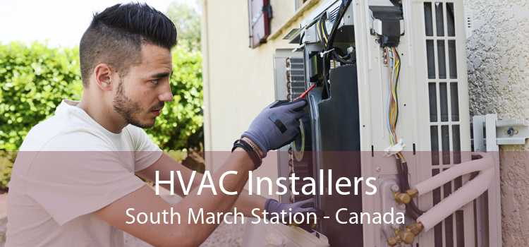 HVAC Installers South March Station - Canada