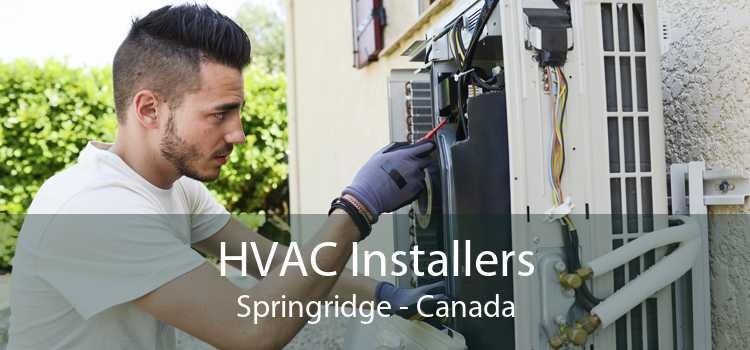 HVAC Installers Springridge - Canada