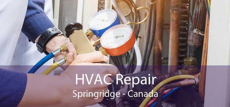 HVAC Repair Springridge - Canada