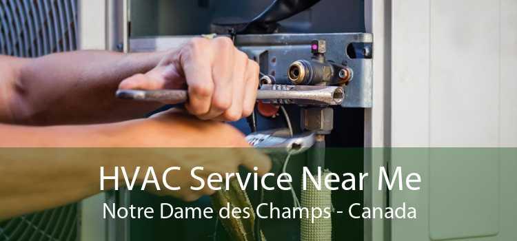 HVAC Service Near Me Notre Dame des Champs - Canada
