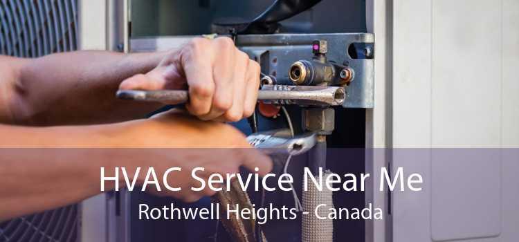 HVAC Service Near Me Rothwell Heights - Canada