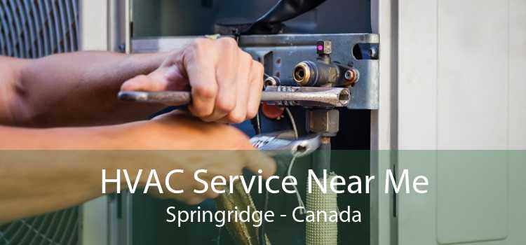HVAC Service Near Me Springridge - Canada