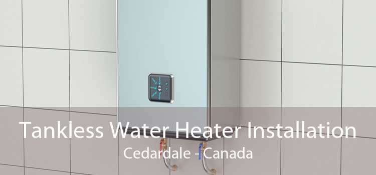 Tankless Water Heater Installation Cedardale - Canada
