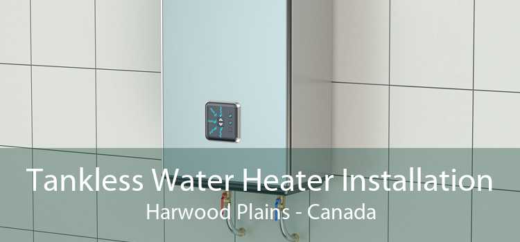 Tankless Water Heater Installation Harwood Plains - Canada