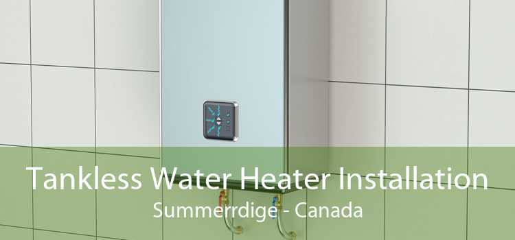 Tankless Water Heater Installation Summerrdige - Canada