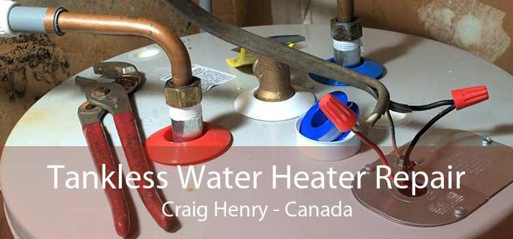 Tankless Water Heater Repair Craig Henry - Canada